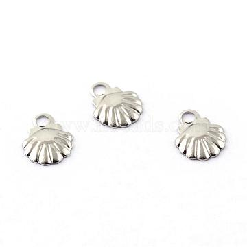 Stainless Steel Color Shell Stainless Steel Charms