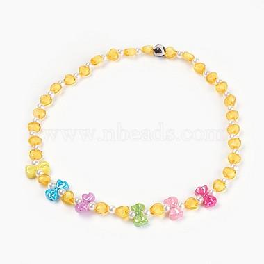 Yellow Acrylic Necklaces