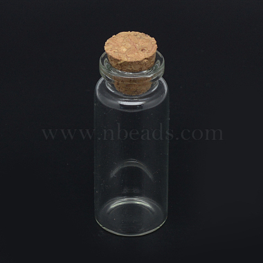 Glass Jar Glass Bottles Bead Containers(AJEW-R068-22x80-04)-3
