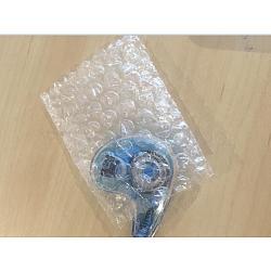 Sacs à bulles en plastique, sacs d'emballage, clair, 16x12 cm(ABAG-R017-12x16-01)