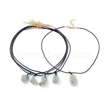 Black Prehnite Necklaces