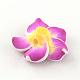 Handmade Polymer Clay 3D Flower Plumeria Beads(CLAY-Q192-30mm-07)-2