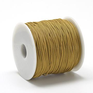 0.8mm DarkGoldenrod Polyester Thread & Cord