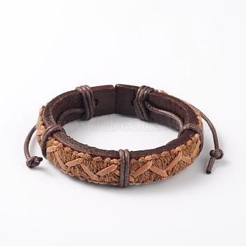 SandyBrown Leather Bracelets