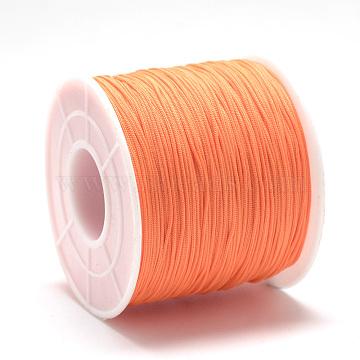 0.4mm DarkOrange Polyester Thread & Cord