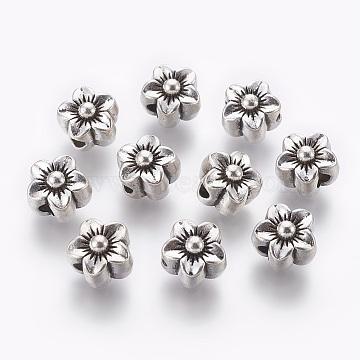 12mm Flower Alloy Beads