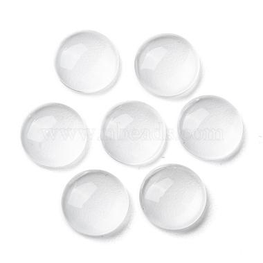 Transparent Glass Cabochons(X-GGLA-R026-10mm)-4
