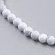 Natural Howlite Beads Strands(X-TURQ-G091-4mm)-3