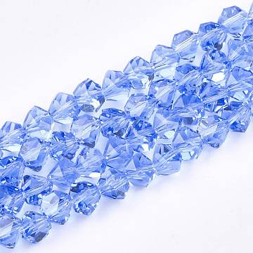 9mm CornflowerBlue Others Glass Beads