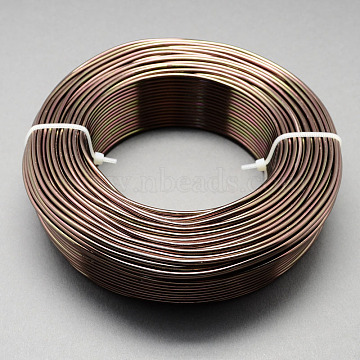 Aluminum Wire, More Color for Choice, Camel, 20 Gauge, 0.8mm; about 200m/roll(AW-R001-0.8mm-19)