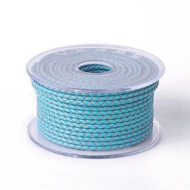 5mm DeepSkyBlue Cowhide Thread & Cord