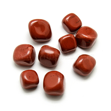 Natural Red Jasper Beads, Nuggets, No Hole/Undrilled, 15~29x17~20x10~17mm(X-G-S218-26)