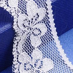 """Fil de nylon de garniture de dentelle pour la fabrication de bijoux, blanc, 1"""" (26 mm)(X-OCOR-I001-067)"""