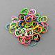 Hottest Colorful Loom Kits Rubber Bands Bracelet DIY Refills(X-DIY-R001-01)-2