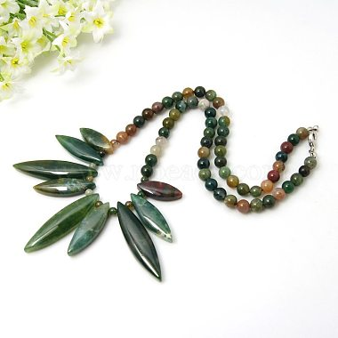 Colorful Indian Agate Necklaces