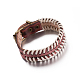 Casual Unisex Braided Leather Bracelets(BJEW-BB15591)-4