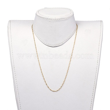 304 Stainless Steel Singapore Chains Necklaces(X-NJEW-JN02662-03)-4