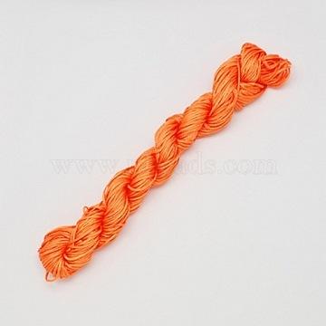 2mm OrangeRed Nylon Thread & Cord