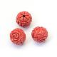 Round Cinnabar Beads(CARL-Q003-09)-2