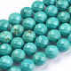 Natural Howlite Beads Strands(TURQ-C003-8mm-5)-1