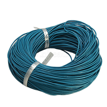 2mm DeepSkyBlue Cowhide Thread & Cord
