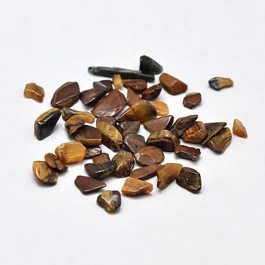 2mm Chip Tiger Eye Beads