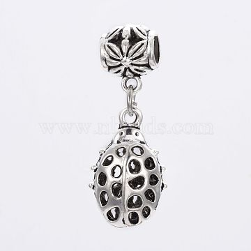 39mm Insects Alloy Dangle Beads