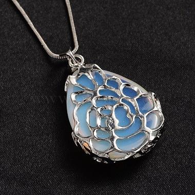Opalite Pendant Necklaces(NJEW-JN01332-01)-3