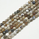 Natural Fire Agate Beads Strands(X-G-S300-09-3mm)-1