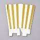 Stripe Pattern Paper Popcorn Boxes(X-CON-L019-A-01A)-1