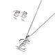 304 Stainless Steel Jewelry Sets(X-SJEW-L141-052E)-1
