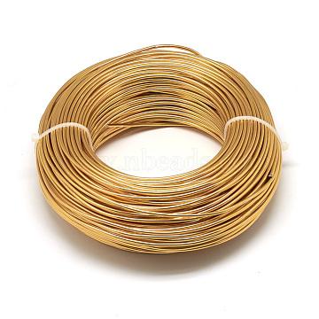 1mm Goldenrod Aluminum Wire