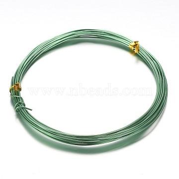 1mm Green Aluminum Wire
