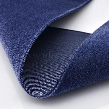 Polyester Velvet Ribbon for Gift Packing and Festival Decoration(SRIB-M001-7mm-370)-2