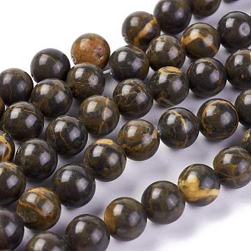 10mm Round Picture Jasper Beads