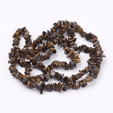 Natural Tiger Eye Stone Bead Strands(G-R192-19)-2