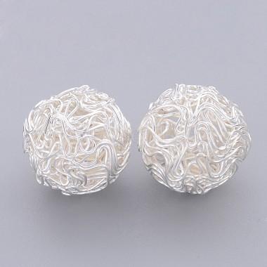 Iron Wire Beads(E403-S)-2