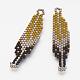 MIYUKI&reg & TOHO&reg Handmade Japanese Seed Beads Links(X-SEED-G005-272-6)-1