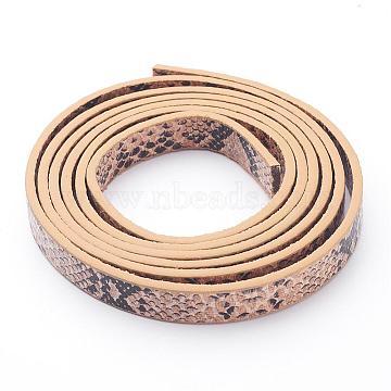 10mm Tan Imitation Leather Thread & Cord