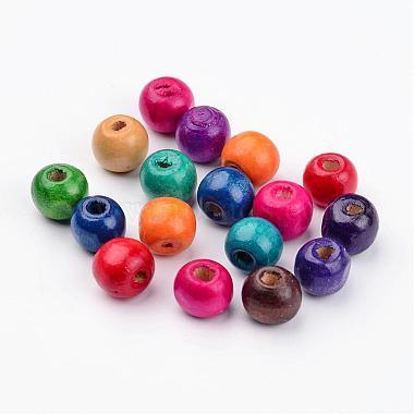 Round Natural Wood Beads(X-W2BPN011)-2