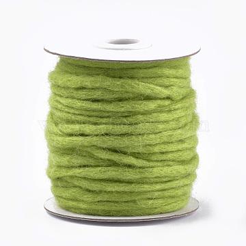YellowGreen Wool Thread & Cord