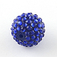 Transparent Resin Rhinestone Graduated Beads(RESI-S314-12x14-13)-2