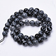 Natural Snowflake Obsidian Beads Strands(G-S281-17-8mm)-2
