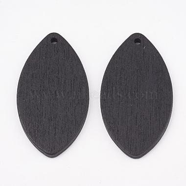 Pear Wood Pendants(X-WOOD-T010-13A)-2