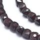 Natural Garnet Beads Strands(G-D0003-B09)-3