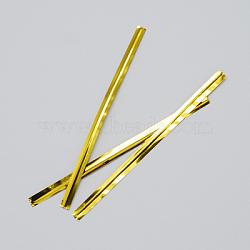 fils d'attaches, avec du fer, or, 80x4 mm(OCOR-R001-80mm-2)