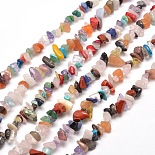 5mm Chip Mixed Stone Beads(X-G-M205-21)