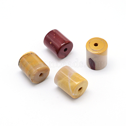 colonne perles mookaite naturelles, 18~20x12~12.5 mm, trou: 2 mm(G-F216-03)
