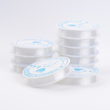 0.4mm Clear Elastic Fibre Thread & Cord