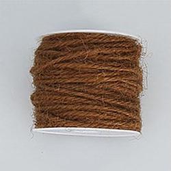 corde de chanvre, chaîne de chanvre, ficelle de chanvre, pour la fabrication de bijoux, coconutbrown, 2 mm; 50 m / rouleau(OCOR-WH0002-A-06)